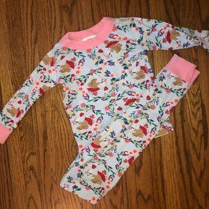 Hanna Andersson Size 80 Bunny Pajamas